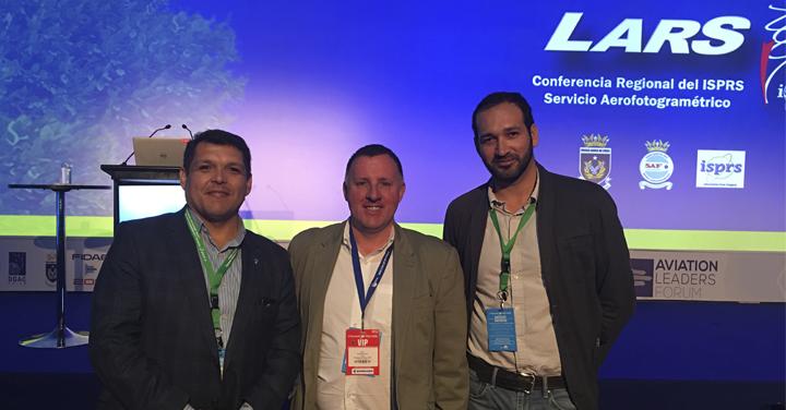 Departamento de Estudios y Desarrollo participó en conferencia LARS 2018