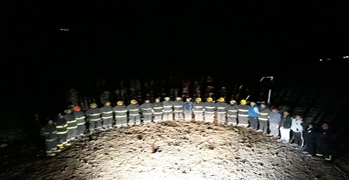 Bomberos de Arica constituyen brigada en localidad de Putre