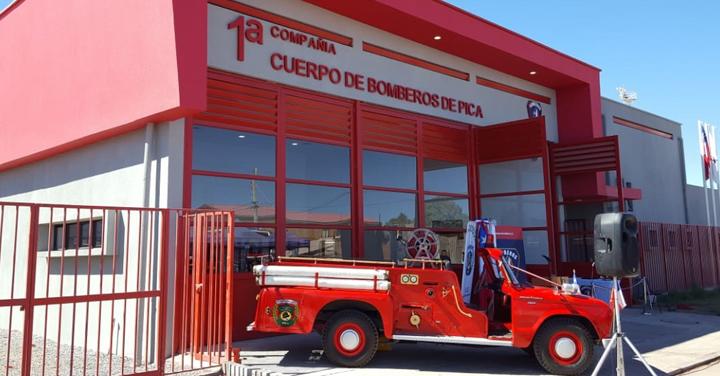 Gira Presidencial: Inauguración de los cuarteles de la Primera Compañía de Pica e Iquique