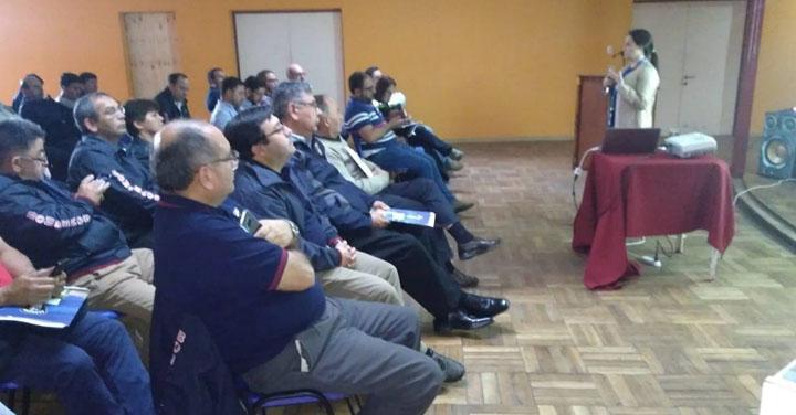 Primera Asamblea Extraordinaria de los 19 Cuerpos de Bomberos de Ñuble