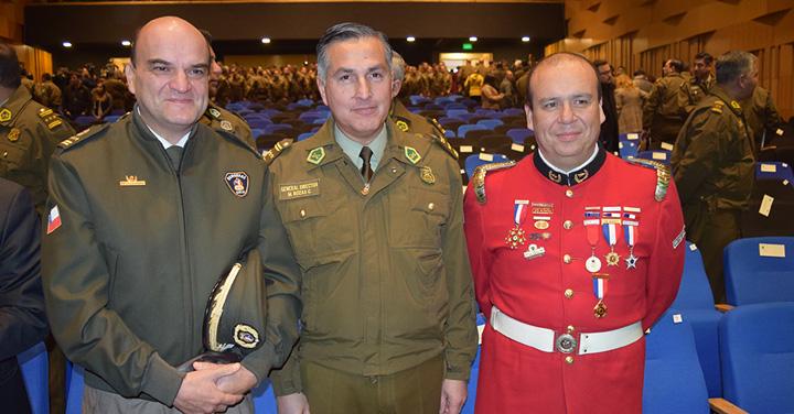 Presidente Nacional de Bomberos participó en la Cuenta Pública de Carabineros de Chile