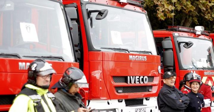 Transferirán recursos a Bomberos de Chile para compra de vehículos y equipos a Antofagasta