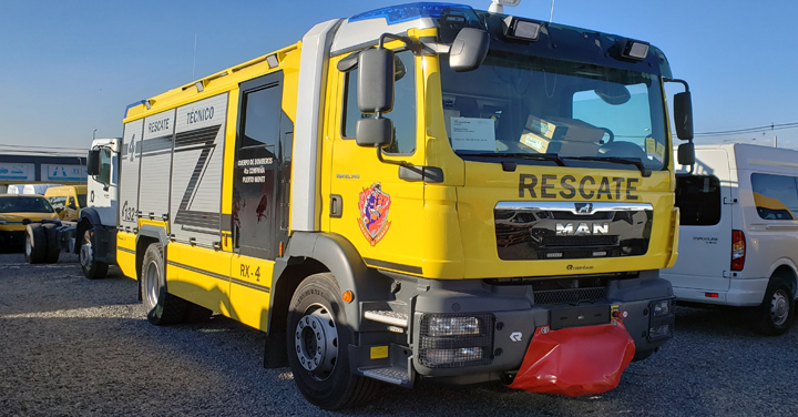Sábado 17 de agosto: Transmisión entrega de carros para Bomberos de Puerto Montt