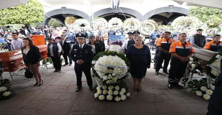 Condolencias de Bomberos de Chile por tragedia en México