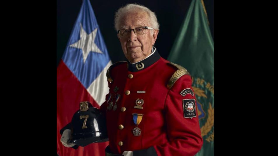 Fallece Bombero Insigne de Chile y Miembro Honorario del Cuerpo de Bomberos de Ñuñoa, Sergio Araos Corvalán (Q.E.P.D)