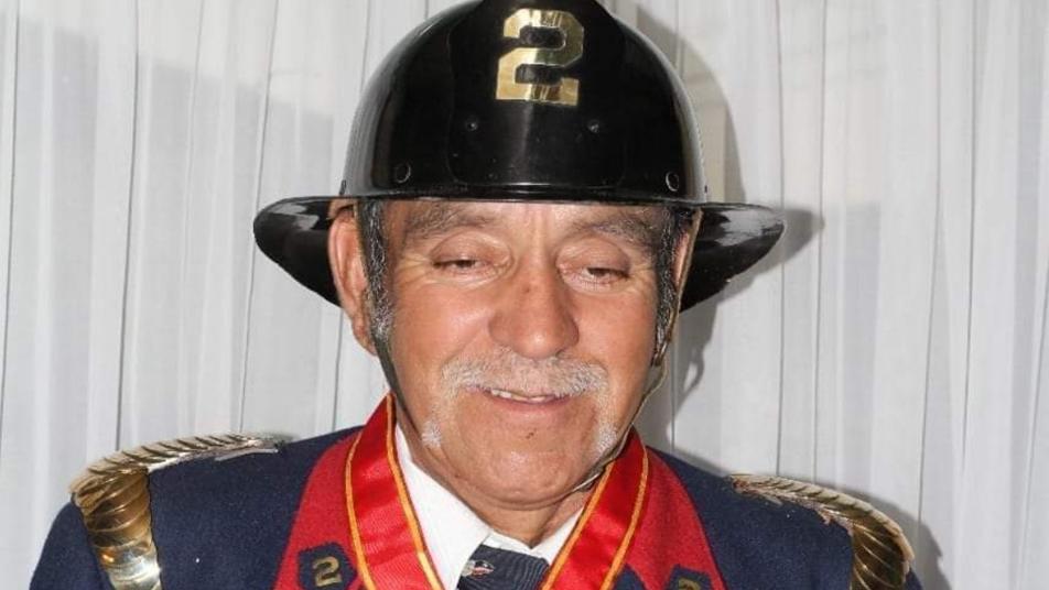 CB de Loncoche informa sensible fallecimiento de Bombero Insigne de Chile, don Jorge Fernández Casanova (Q.E.P.D.)