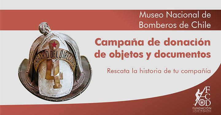 Bomberos busca reliquias históricas para el primer museo nacional