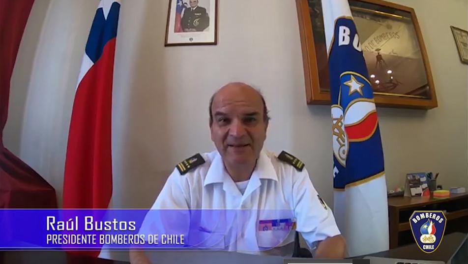 Importante mensaje del Presidente Nacional a los Bomberos de Chile