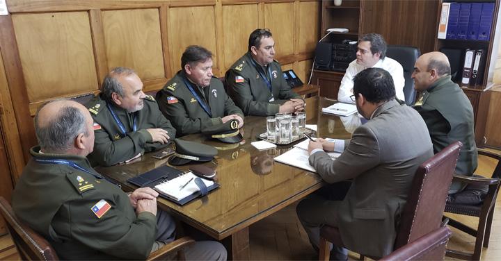 Integrantes del Directorio Nacional se reunieron con el Jefe de la Unidad de Gestión, Riesgo y Emergencia de la Subsecretaría del Interior
