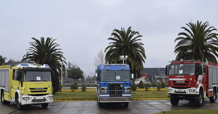 Anuncian compra masiva de carros de bomberos para la región de Valparaíso