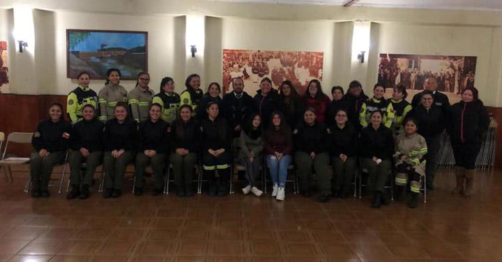 Cuerpo de Bomberos de Talagante crea Comisión Especial de Género