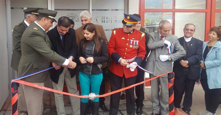 Inaugurado nuevo cuartel para el Cuerpo de Bomberos de Villa Alhué