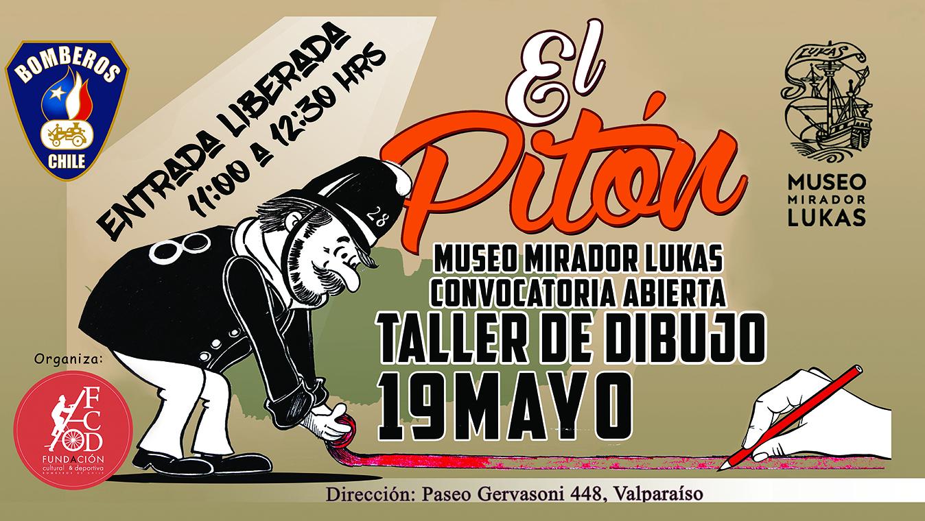 Taller de ilustración con Tina Fuentes en Valparaíso