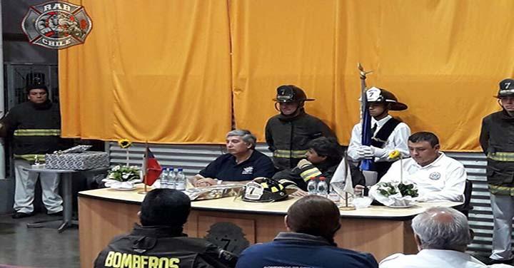 Aniversario de la Brigada Juan Jara Alvarado del Cuerpo de Bomberos de Conchalí