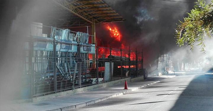 Seminario de Incendios Estructurales en Región de Atacama