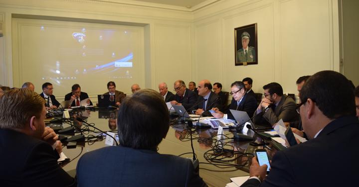 Directorio Nacional de Bomberos de Chile realizó sesión ordinaria Nº 395