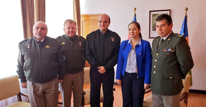 Presidente Nacional de Bomberos visitó región de Coquimbo