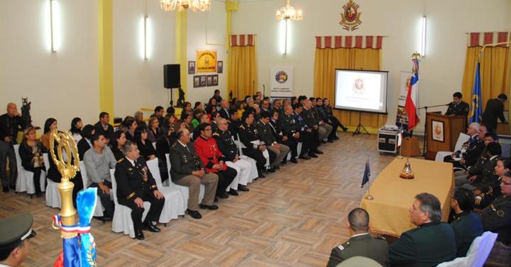 Bomba Ferrocarril de Antofagasta celebró su aniversario 117