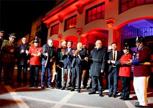 Entregan remodelación del cuartel general de Bomberos de La Serena