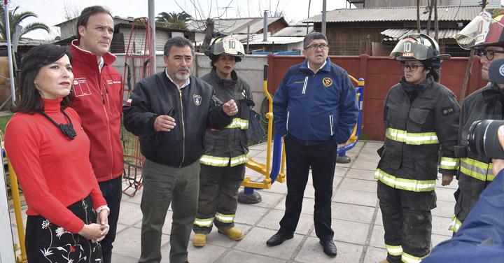 Ministerio de Bienes Nacionales entregará terreno a la 10ma Compañía de Calera de Tango