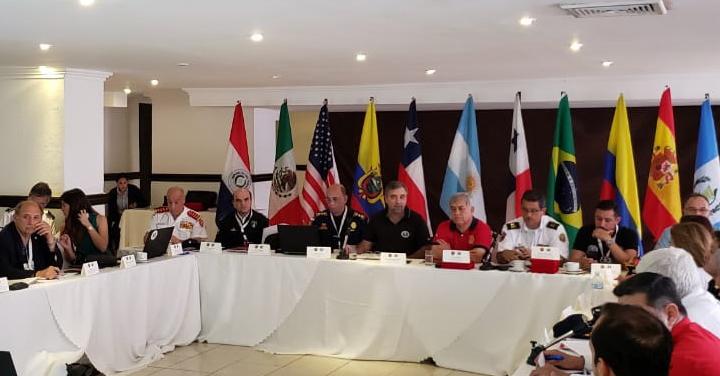 Presidente Nacional de Bomberos asiste a la asamblea anual de la OBA en Panamá