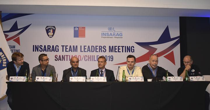 Concluye exitosa Reunión Mundial de Líderes de Búsqueda en Rescate Urbano Insarag Chile 2019