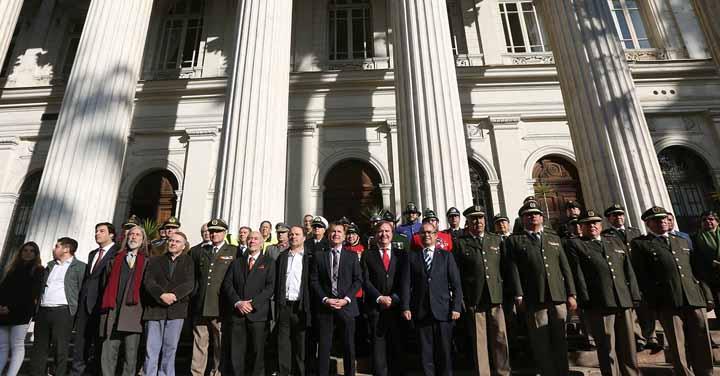 Bomberos de Chile conmemoró su aniversario número 168 con coloquio sobre la Ley Marco