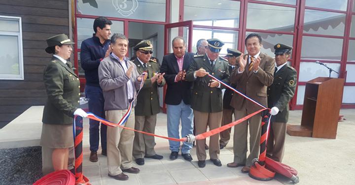 Inauguración de nuevos cuarteles para la Región del Maule