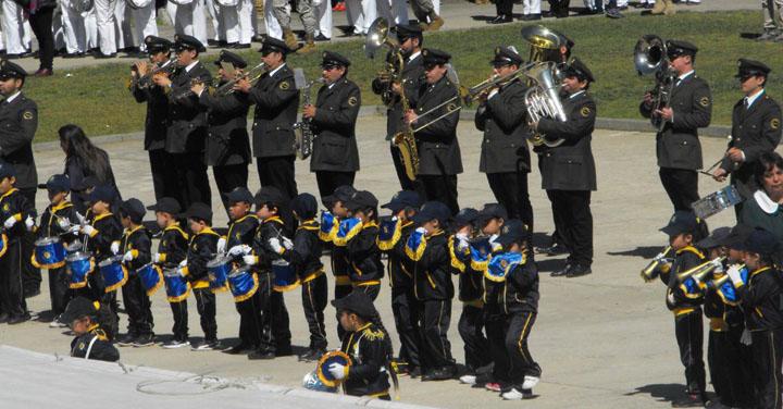 Destacada presentación de bandas del CB de Valparaíso en XVI encuentro de bandas