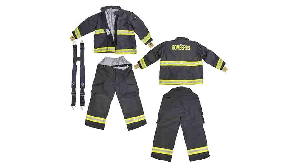 Pauta de protección de uniformes estructurales marca Lion