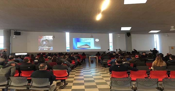 Jornada Informativa del Cuerpo de Bomberos de Valparaíso a los oficiales de Compañía