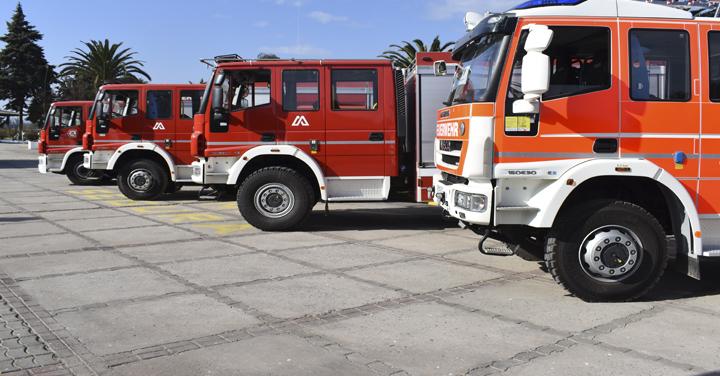 Nuevos carros para Talcahuano, Rengo, Reumén y Santa Juana