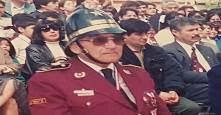 Falleció Voluntario Insigen del Cuerpo de Bomberos de El Monte