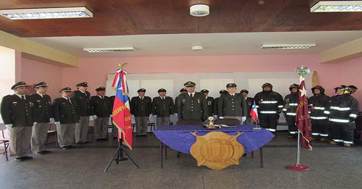Cuarta Compañia de Curicó Conmemoró 107 años de servicio a la comunidad