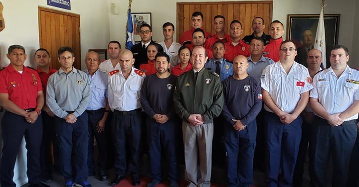Rector de la ANB inauguró curso Control de Gases Combustibles para integrantes de la OBA