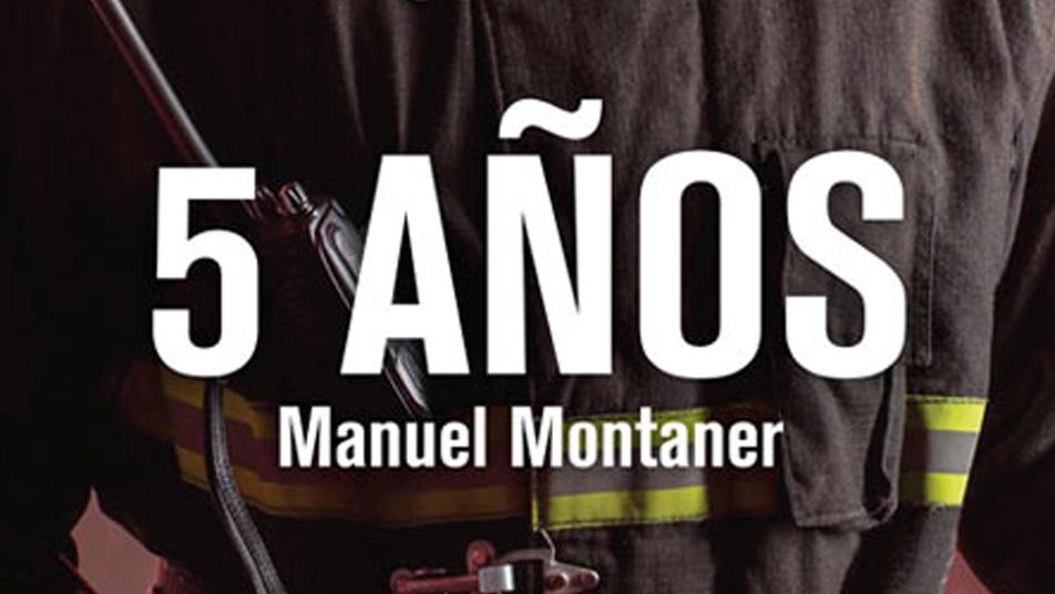 """""""5 Años"""" la novela que recoge la experiencia del autor en una compañía de bomberos de Arica"""