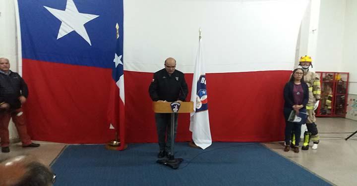 Bomberos de la Región de Ñuble recibieron equipos multirol