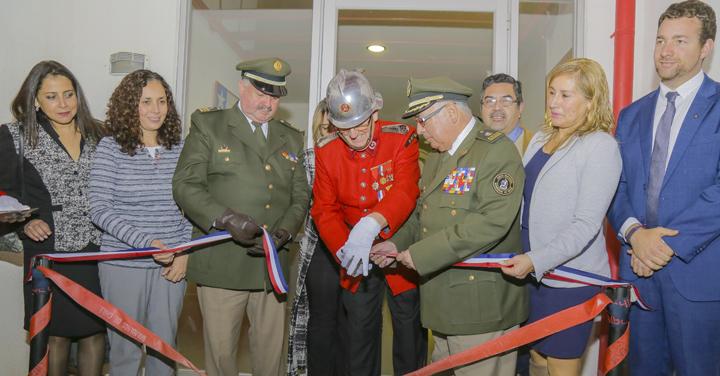 Casablanca y Quilpué cuentan con nuevo Cuartel