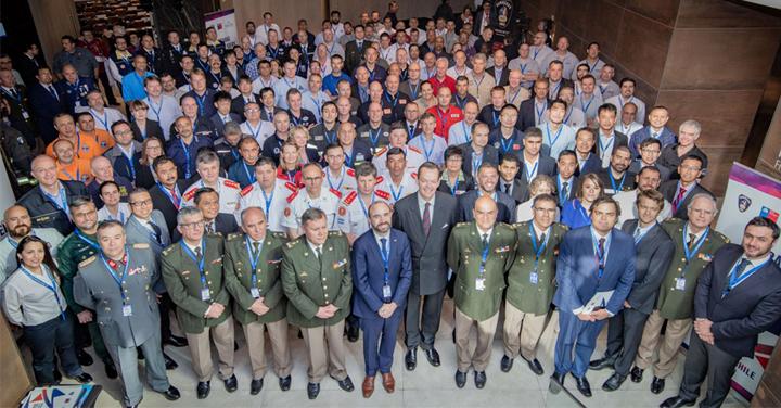 Se inauguró en Chile encuentro internacional de expertos en rescate urbano
