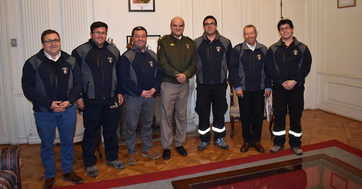 Presidente Nacional se reunió con los CB de Florida, Ninhue, Chépica y con el Consejo Regional Metropolitano