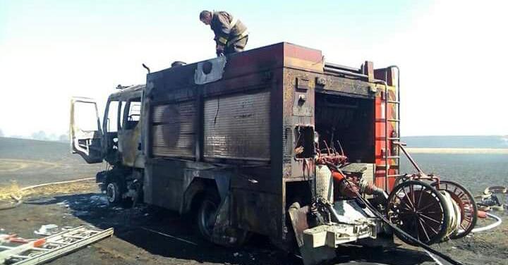 Bombero que combatía incendio en Ercilla sufrió quemaduras de gravedad