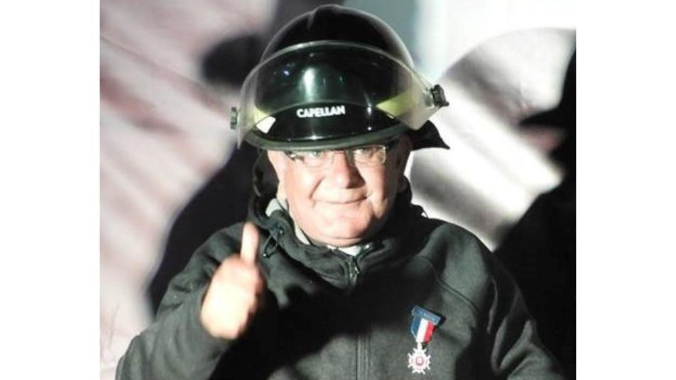 Gran pesar por fallecimiento del bombero y Capellán del Cuerpo de Bomberos de La Estrella