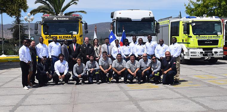 Culminó programa de cooperación con República de Haití