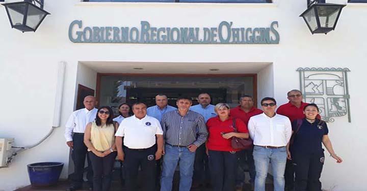 CORE Región de O'Higgins aprobó recursos para cuartel de Bomba Lo Miranda