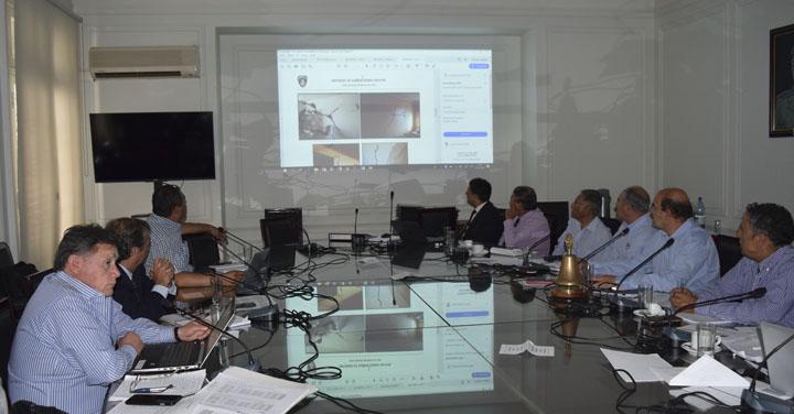 Comisión evaluadora de Bomberos expuso daños en cuarteles tras fuerte sismo en Región de Coquimbo