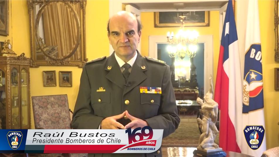 Saludo a los Bomberos y Bomberas del país con motivo del 169° Aniversario de Bomberos de Chile