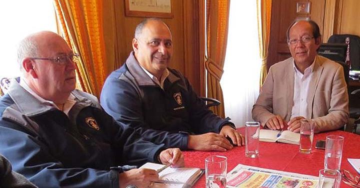 Presidente Regional de La Araucanía se reunió con alcalde de Villarrica
