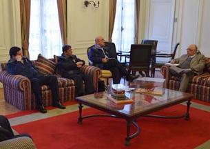 Máxima autoridad bomberil se reúne con Presidente Regional y Superintendentes de Antofagasta