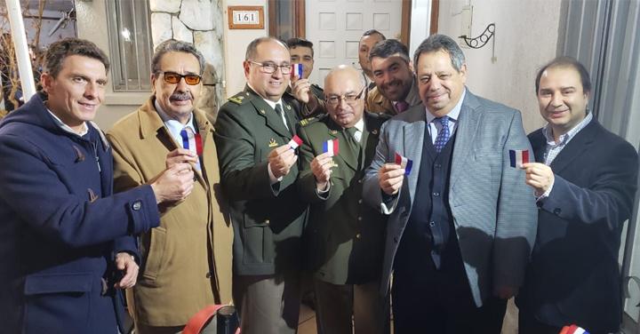 Bomberos de Ñuble es la primera institución en oficializar su servicio en la nueva región