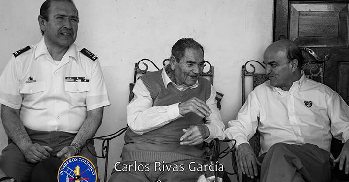 Fallece fundador del Cuerpo de Bomberos de Coltauco